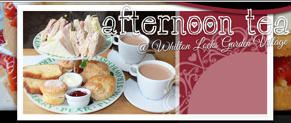 Afternoon Tea at Whilton locks Garden Centre