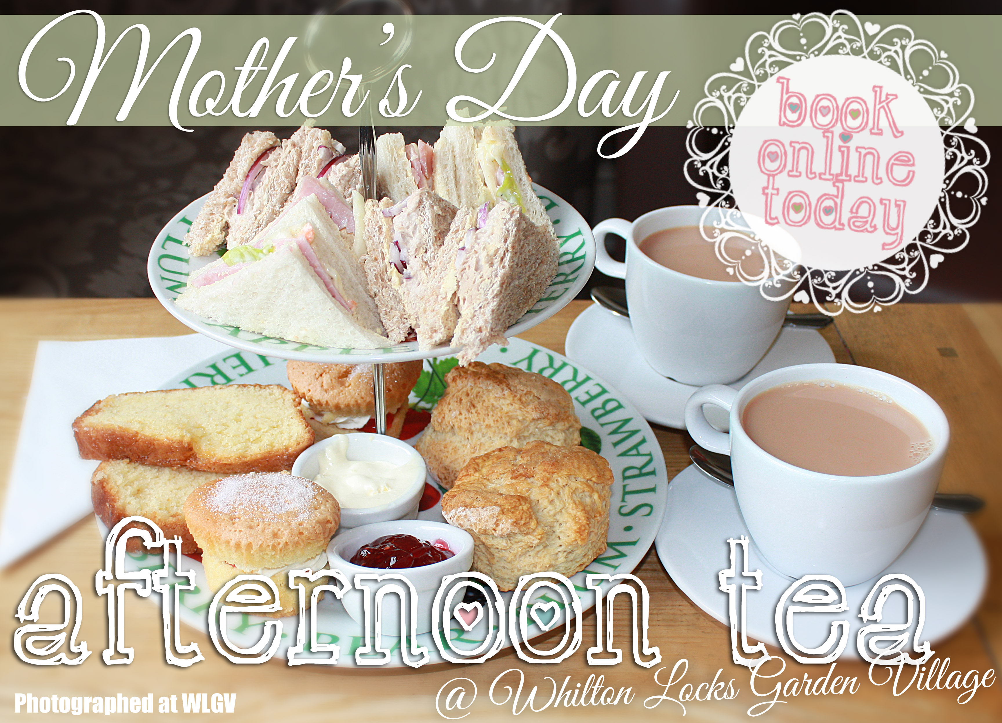 afternoon tea mothers day