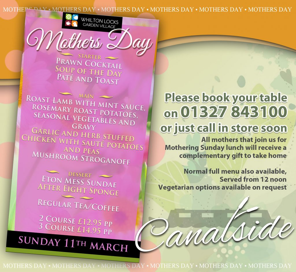 mothers day meal daventry