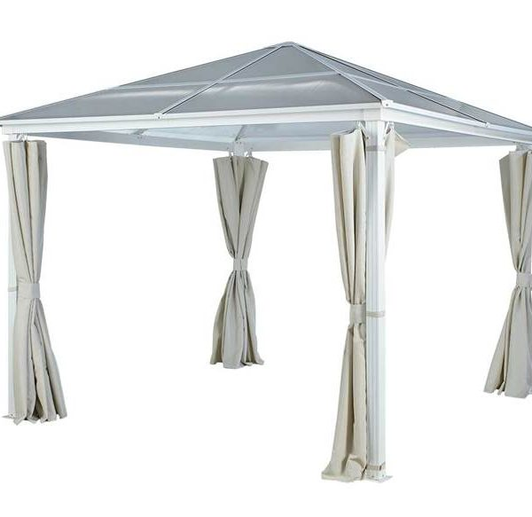 polycarbonate gazebo