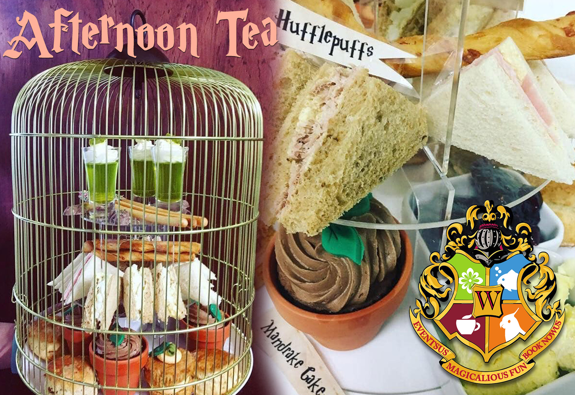 Potter afternoon tea