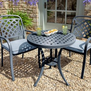 hartman berkeley bistro set-antique-grey